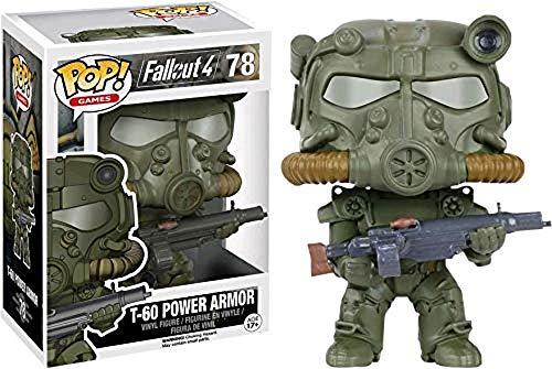 Funko Pop Fallout: Green T-60 Power Armor Collectible Figure, Multicolor