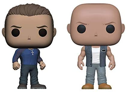 Funko Pop! Fast and Furious 9 Set of 2: Dominic and Jakob Toretto