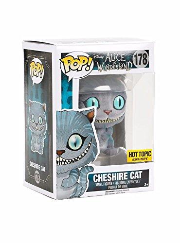 Funko Pop! Flocked Cheshire Cat #178 Alice in Wonderland Hot Topic Exclusive