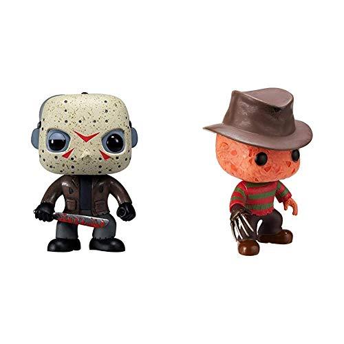 Funko Pop Friday The 13th Jason Voorhees & Freddy Krueger Pop Movie, Styles May varys,Multi
