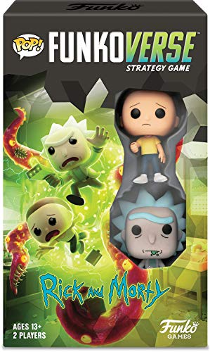 Funko Pop! Funkoverse Strategy Game: Rick & Morty 100 - Expandalone in Spanish