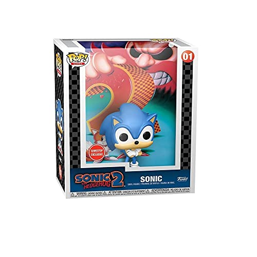 Funko Pop! Game Cover: Sonic The Hedgehog 2 Exclusive Figure Packed in Hard case