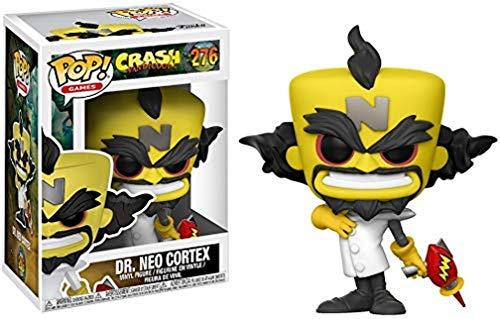 Funko Pop! Games: Crash Bandicoot Neo Cortex Collectible Figure,Yellow