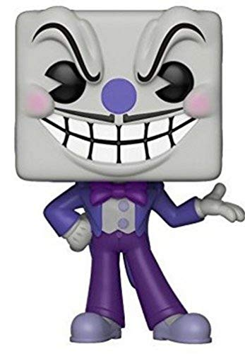 Funko Pop Games: Cuphead S1-King Dice Collectible Figure