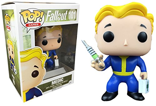 Funko Pop! Games Fallout Vault Boy Medic #101 (Hot Topic Mystery Exclusive)