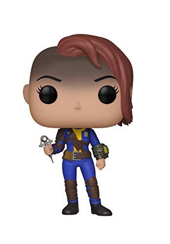 Funko Pop! Games: Fallout - Vault Dweller Female, Standard, Multicolor