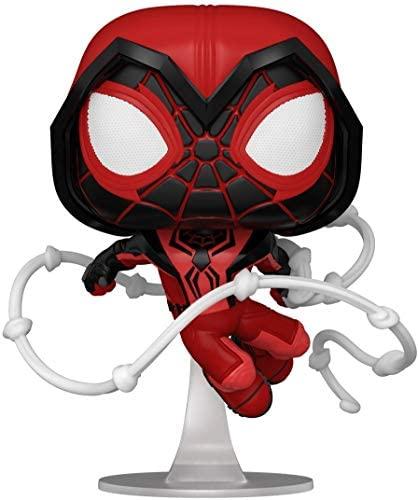 Funko Pop! Games: Marvel's Spider-Man: Miles Morales - Miles Red Suit