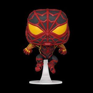 Funko Pop! Games: Marvel's Spider-Man: Miles Morales - Miles Strike Suit