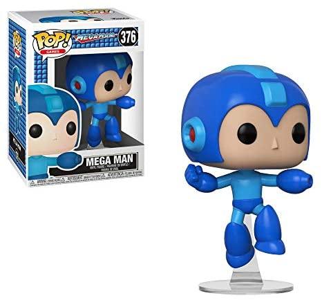 Funko Pop Games: Megaman - Jumping Megaman Collectible Figure, Multicolor