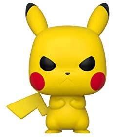 Funko Pop! Games: Pokemon - Grumpy Pikachu Multicolor, 3.75 inches