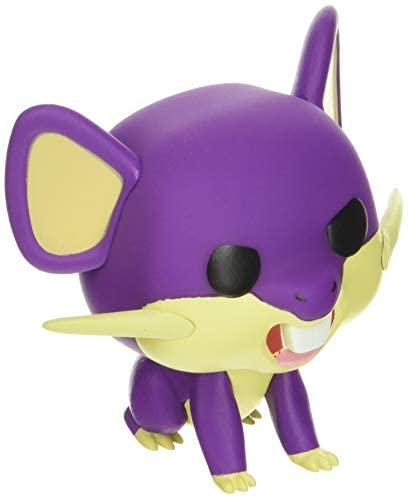 Funko Pop! Games: Pokemon - Rattata, Multicolor