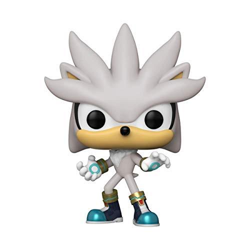 Funko Pop! Games: Sonic 30th Anniversary - Silver The Hedgehog Vinyl Figure, 3.75 inches