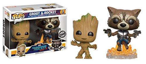 Funko Pop! Groot & Rocket – Guardians of The Galaxy Vol. 2 (FYE Exclusive)