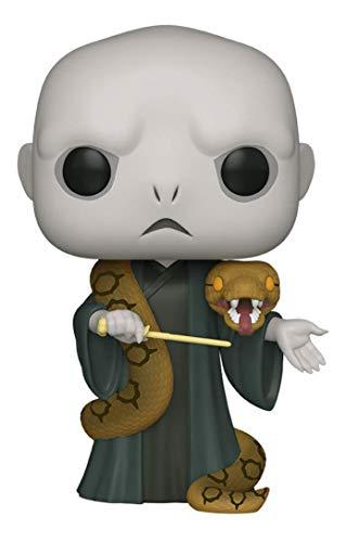 "Funko Pop! Harry Potter: Harry Potter- 10"" Voldemort with Nagini, Multicolor, Model:48037"