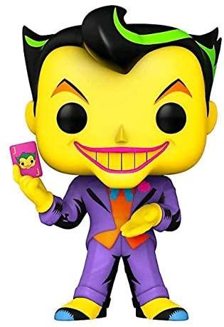 Funko Pop! Heroes: Batman The Joker Black Light Glow Exclusive Vinyl Figure #370