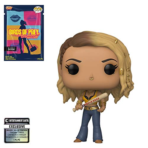 Funko Pop! Heroes: Birds of Prey - Black Canary Pop! Vinyl Figure with Collectible Card Exclusive by Entertainment Earth