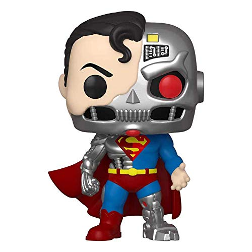 Funko Pop! Heroes: Cyborg Superman SDCC 2020 Exclusive Vinyl Figure #346