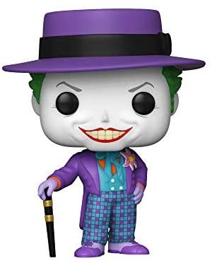 Funko Pop! Heroes:Batman 1989-Joker with Hat (Styles May Vary),Multicolor
