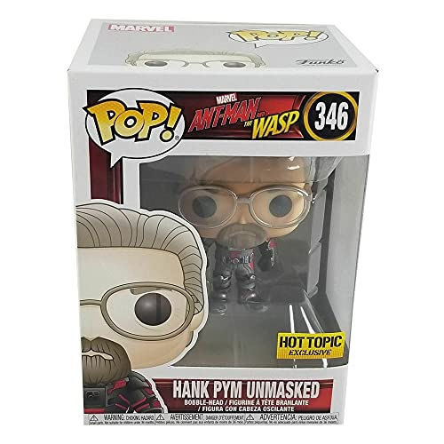 Funko Pop! Marvel #346 Ant-Man & The Wasp Unmasked Hank Pym (Hot Topic Exclusive)