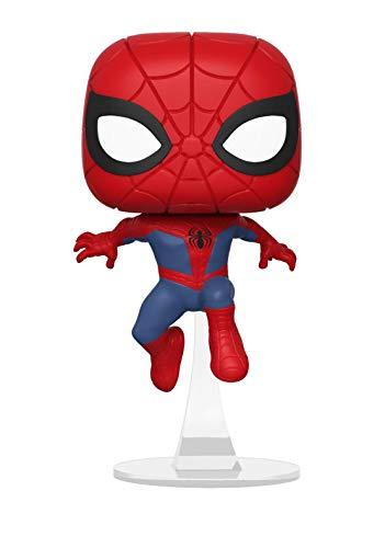 Funko Pop Marvel: Animated Spider-Man Movie - Spider-Man Collectible Figure, Multicolor