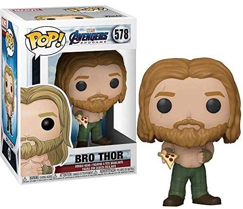 Funko Pop! Marvel: Avengers Endgame - Bro Thor with Pizza