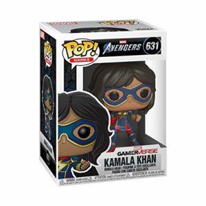 Funko Pop! Marvel: Avengers Game - Kamala Khan (Stark Tech Suit), Multicolor