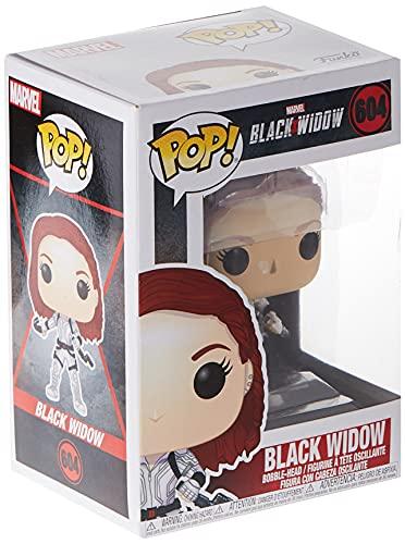 Funko Pop! Marvel: Black Widow – Black Widow in White Suit Vinyl Bobblehead