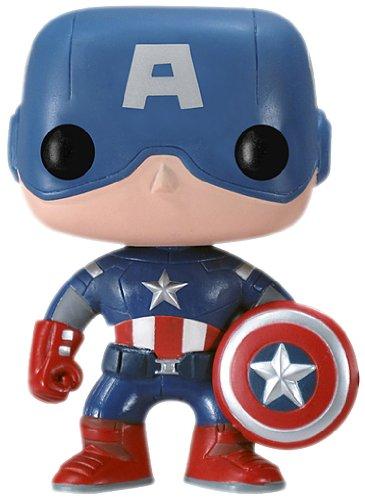 Funko Pop Marvel (Bobble): Avengers - Capt. America