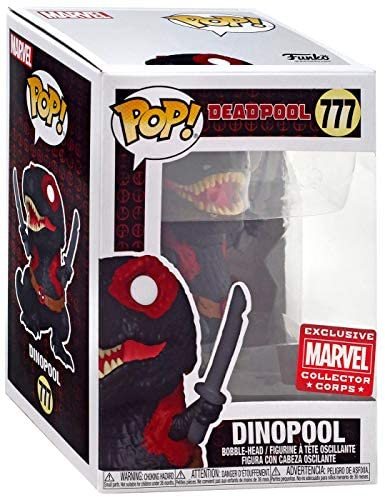 Funko Pop! Marvel Collector Corps Exclusive 30th Anniversary DinoPool #777 w/ Free Acrylic Case