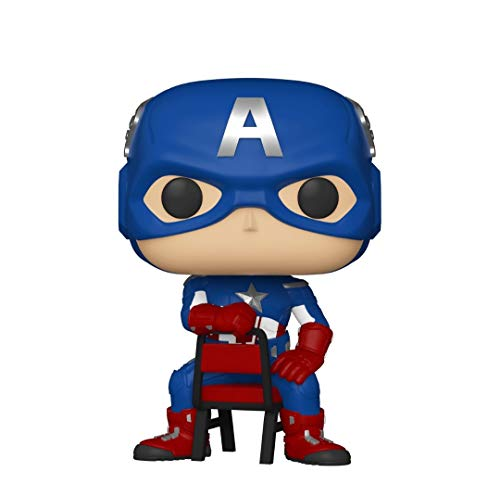 Funko Pop! Marvel Collector Corps Exclusive End Credits Captain America #693 w/ Free Acrylic Case
