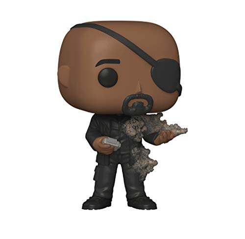 Funko Pop! Marvel Collector Corps Exclusive End Credits Nick Fury #694 w/ Free Acrylic Case