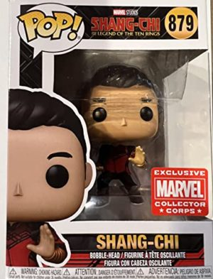 Funko Pop! Marvel Collector Corps Exclusive Shang Chi #879 with Free Acrylic Case
