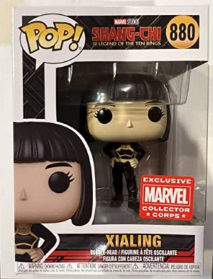 Funko Pop! Marvel Collector Corps Exclusive Xialing #880 with Free Acrylic Case