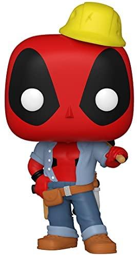 Funko Pop Marvel Construction Worker Deadpool