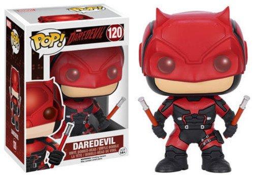 Funko Pop Marvel: Daredevil TV-Daredevil Red Suit Action Figure,Multi-colored,3.75 inches
