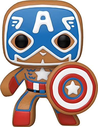 Funko Pop! Marvel: Gingerbread Captain America