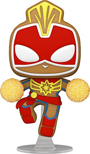 Funko Pop! Marvel: Gingerbread Captain Marvel
