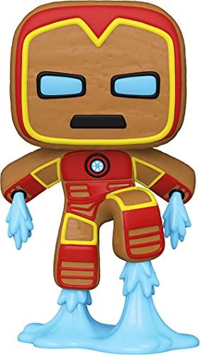 Funko Pop! Marvel: Gingerbread Iron Man, Multicolor (50658)
