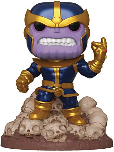 "Funko Pop! Marvel Heroes: Thanos Snap 6"" Deluxe Vinyl Figure, Multicolor"