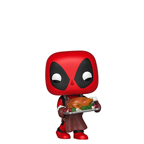 Funko Pop! Marvel: Holiday - Deadpool with Turkey