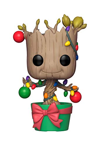Funko Pop Marvel: Holiday, Guardians of The Galaxy - Groot Collectible Figure, Multicolor