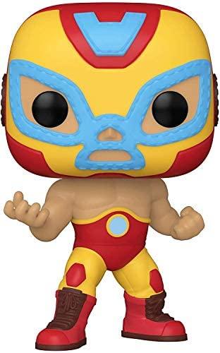 Funko Pop! Marvel: Luchadores - Iron Man Multicolor, Standard