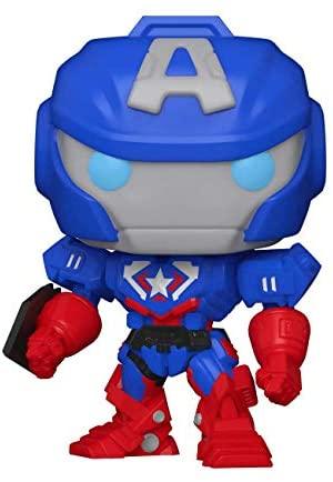 Funko Pop! Marvel: Marvel Mech - Captain America