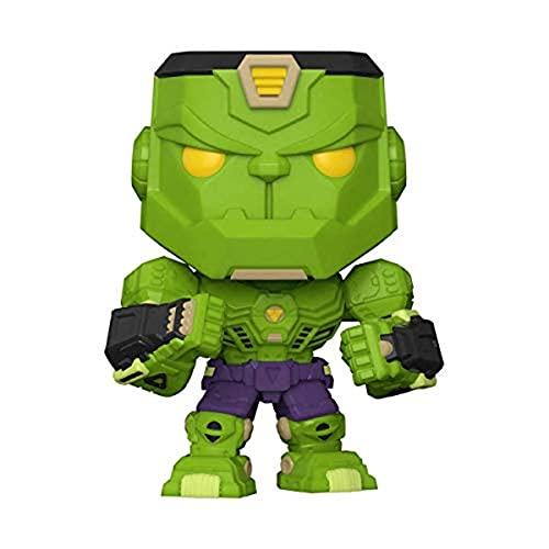 Funko Pop! Marvel: Marvel Mech - Hulk Multicolor, 3.75 inches