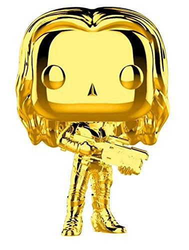 Funko Pop Marvel: Marvel Studios 10 - Gamora (Gold Chrome) Collectible Figure, Multicolor