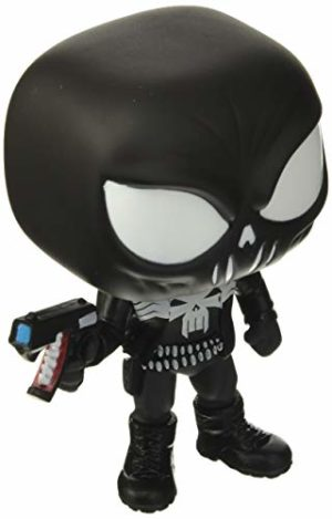 Funko Pop! Marvel: Marvel Venom - Punisher, Multicolor