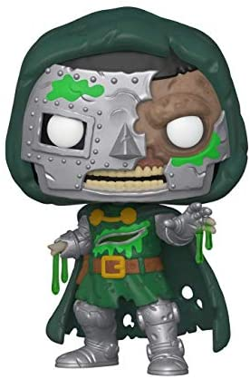 Funko Pop! Marvel: Marvel Zombies - Dr. Doom Multicolor, 3.75 inches