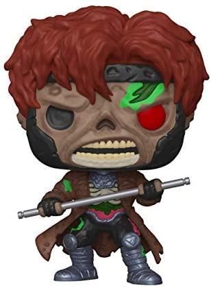 Funko Pop! Marvel: Marvel Zombies - Gambit, 3.75 inches, Multicolor, Model:49941