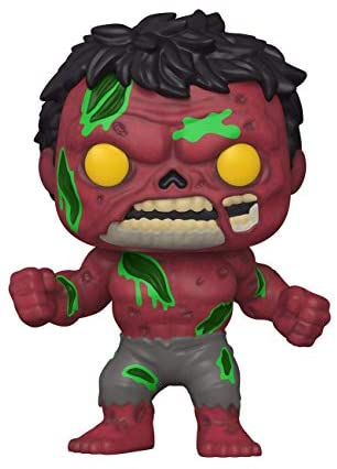 Funko Pop! Marvel: Marvel Zombies - Red Hulk, 3.75 inches