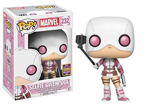 Funko Pop: Marvel- Selfie Gwenpool-Collectible Figure - Summer Convention Exclusive